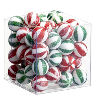Box of Peppermint Candy Balls