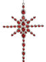 Red Rhinestone Cross Ornament