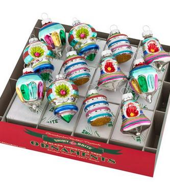 Set of 12 Small Old World Christopher Radko Ornaments