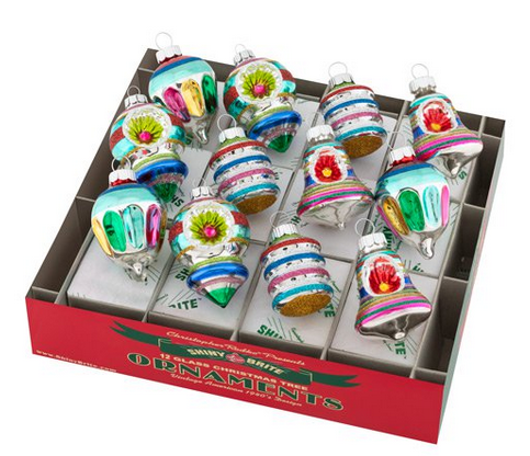 Set of 12 Small Old World Christopher Radko Ornaments
