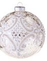 Mercury Glass Scroll Ornament