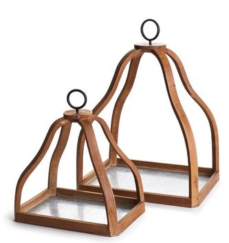 Ashlyn Open Lantern (2 Sizes)