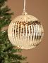 Pre-Lit Electric Mercury Glass Ball Ornament (3 Colors)
