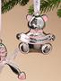 Baby Girl's 1st Christmas Ornament