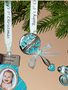 Baby Boys 1st Christmas Ornament (3-Styles)