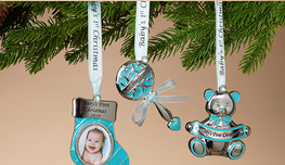 Baby Boy's 1st Christmas Ornament