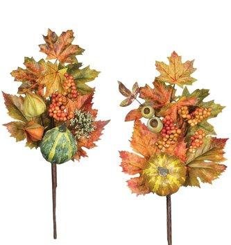 Pumpkin Gourd Lantern Pick (2 Styles)