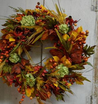 Custom Autumn Delarobia Wreath