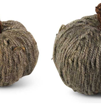 Dark Jute Pumpkin