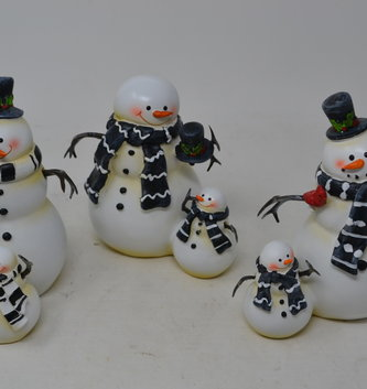 Snowman & Baby (3 Styles)