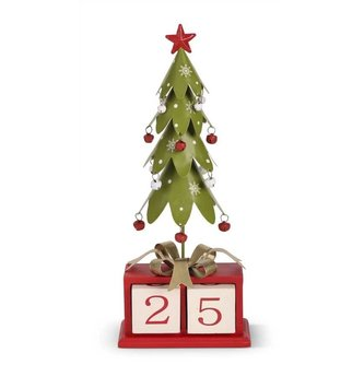 Whimsical Christmas Count Down Tree