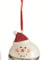 Snowman Trinket Box Ornament