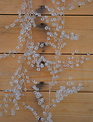 4-ft Crystal Garland with Copper Wire