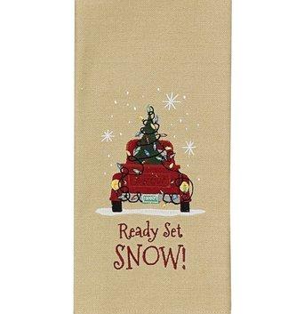 Ready Set Snow Towel