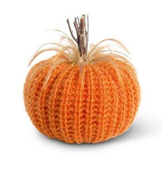 Orange XL Crochet Pumpkin