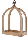 Horizontal Open Lantern with Finial Top