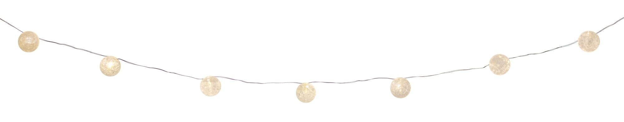 11-ft Mini LED Glass Ball String Lights