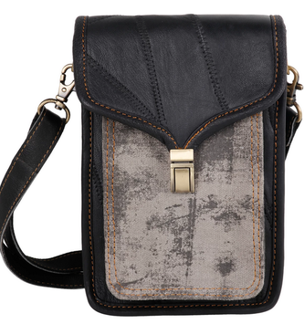 Leather Harley Black Crossbody