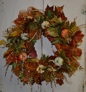 Maple Berry Custom Wreath