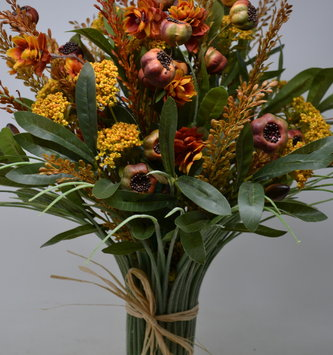 Autumn Fig Custom Grass Vase