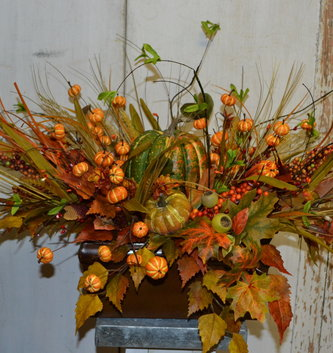 Custom Pumpkin Centerpiece