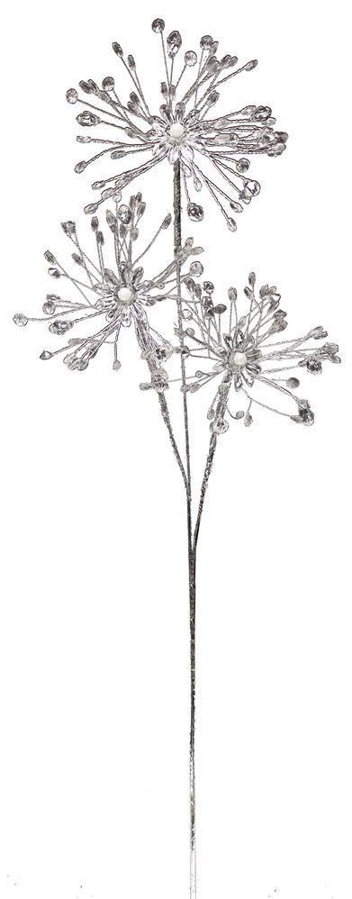 Acrylic Starburst Flower Spray