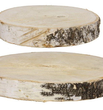 Natural Birch Slice