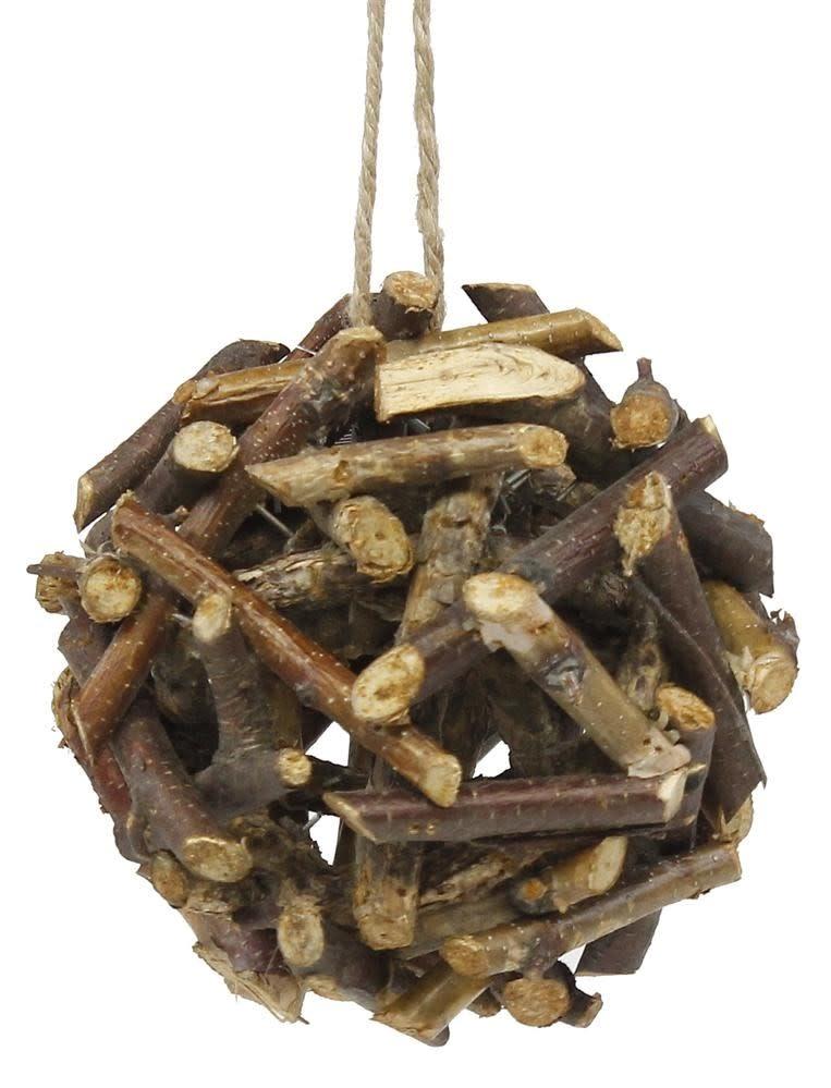 Birch Twig Orb Ornament