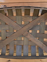 Rectangular Wooden Lattice Basket