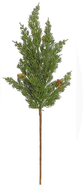 """26"""" Cedar Spray w/ Pinecones"""