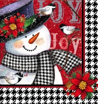 Snowman and Friends Cocktail Napkins