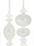 Iridescent Textured Finial Ornament (2-Styles)