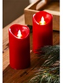 Red LED Candle