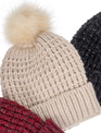 Fleece Lined Knit Toboggan