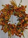 Custom Golden Bittesweet Wreath