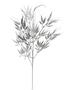 Silver Glitter Bamboo Spray
