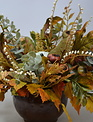 Custom Round Autumn Arrangement