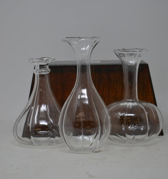 Glass Petal Vase