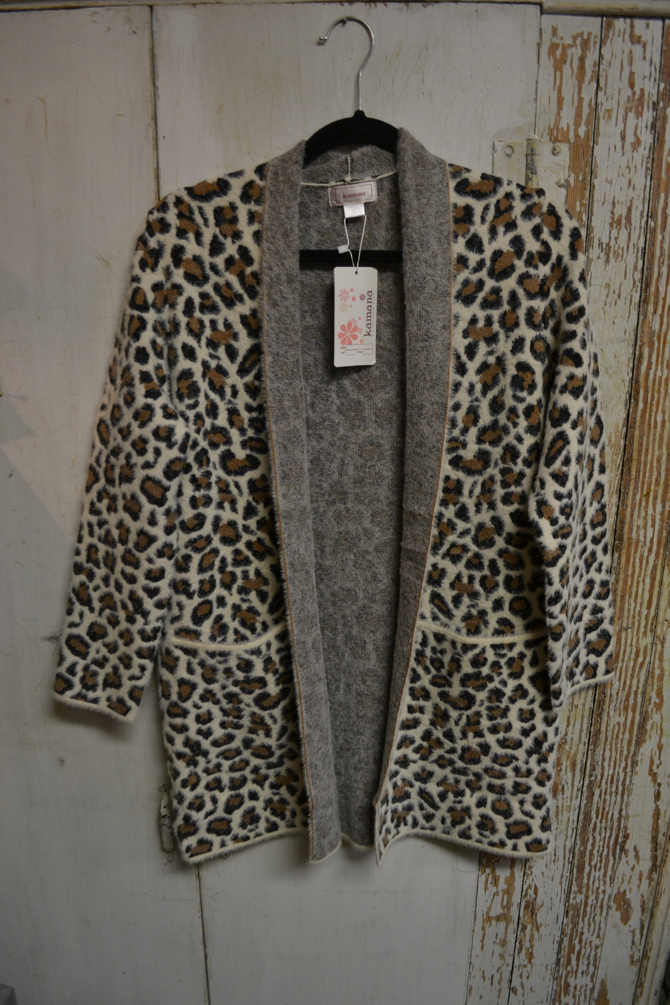 Cozy Cheetah Cardigan