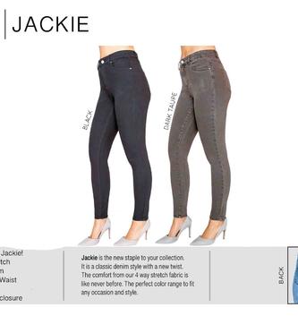 Jackie High Waist Skinny Jean By: Lior Paris (2 Colors)