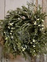 Custom Winter Forest Christmas Wreath