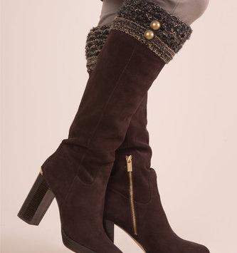 Simply Noelle Calico Boot Socks By Simply Noelle