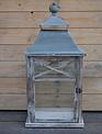 Gray Roof Wooden Lantern (3 Sizes)