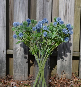 Globe Thistle Spray (2 Colors)