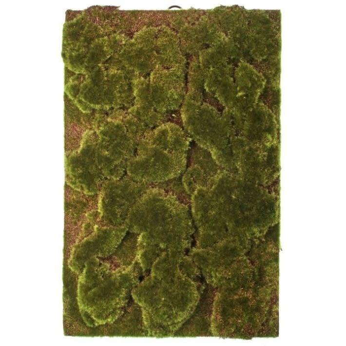 Artificial Moss Wall Plaque