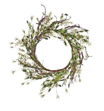"26"" Mountain Azalea Twig Wreath"