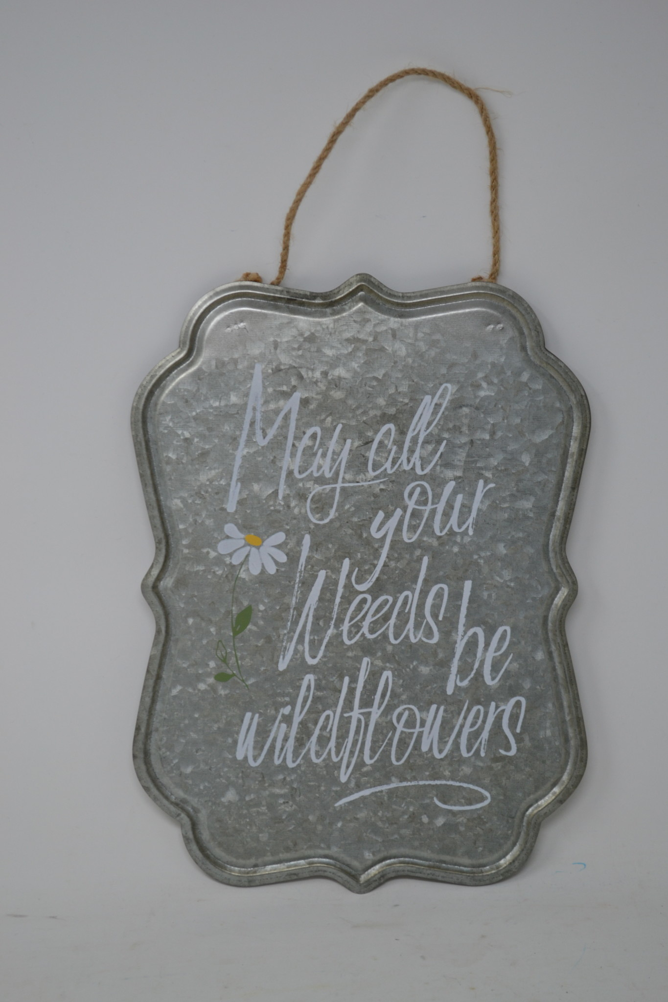 Galvanized Garden Quote Sign (4 Styles)
