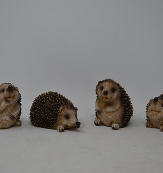 Small Resin Hedgehog (4 Styles)