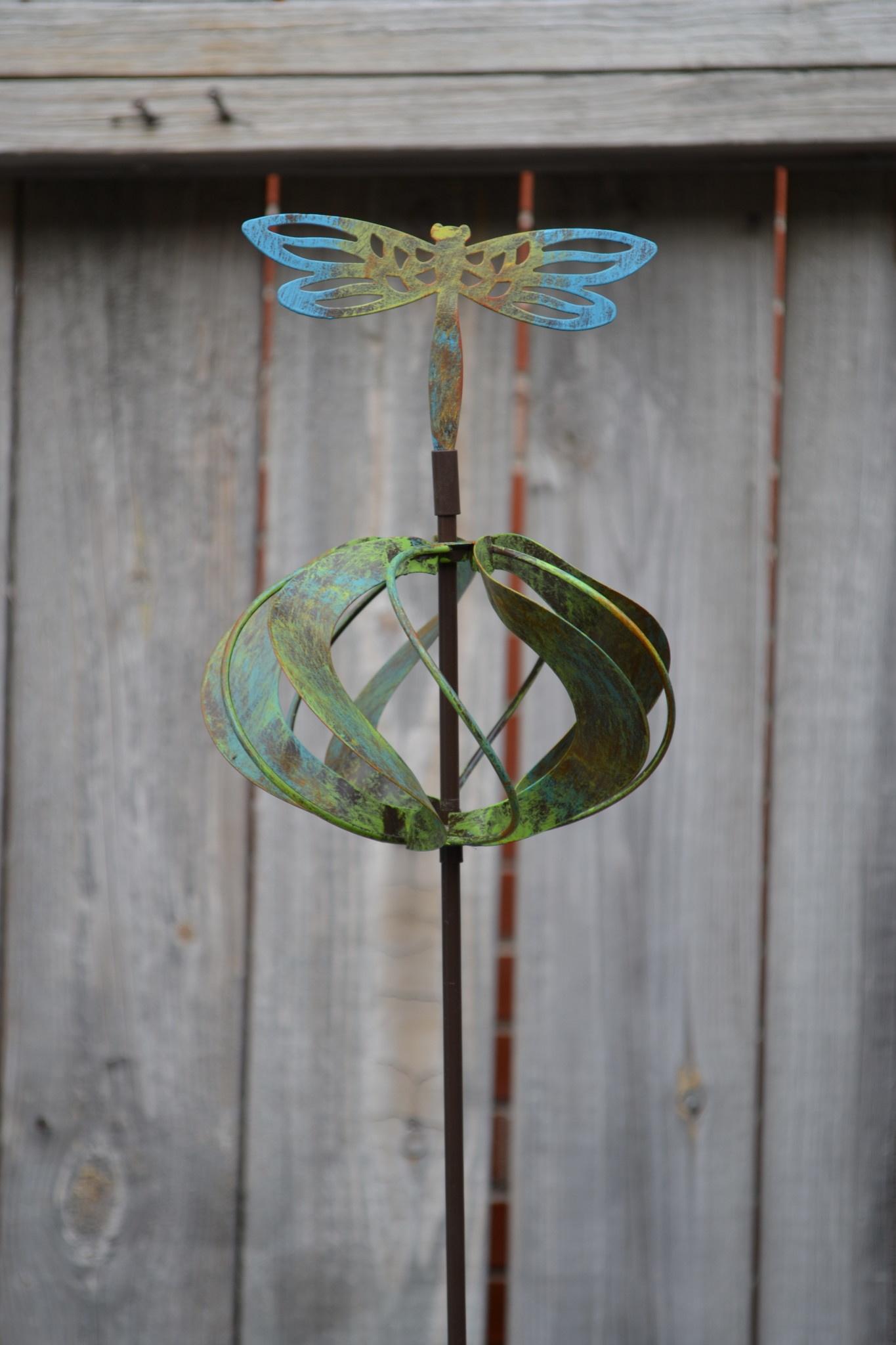 Garden Globe Spinner Stake (4 Styles)