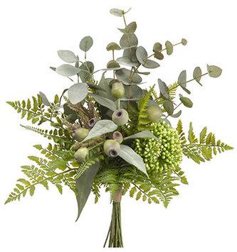 Eucalyptus Sedum Bouquet